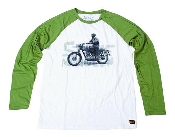 Camiseta Manga Longa Troy Lee Mcqueen Circa 64
