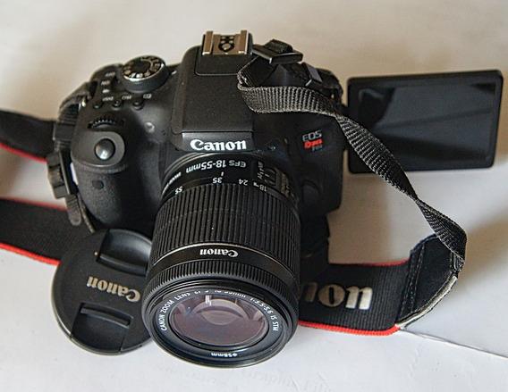 Canon T6i....con Kit....impecable......opción Otros Lentes.