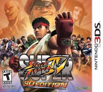Super Street Fighter Iv 3d Edition Europeu