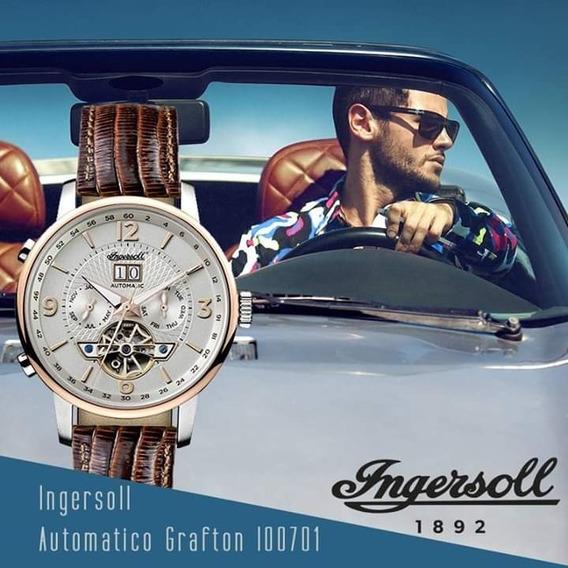 Reloj Ingersoll Automatico Grafton 1892
