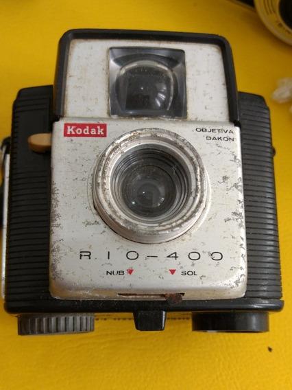 Câmara Fotografia Antiga Kodak Rio 400
