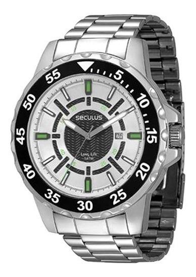 Relógio Seculus - Novo - Frete Grátis - Mod. 28364g0svna2