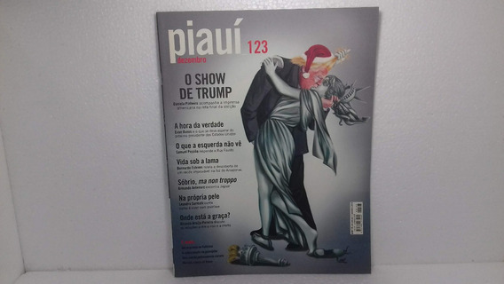 Revista Piauí 123 O Show De Trump