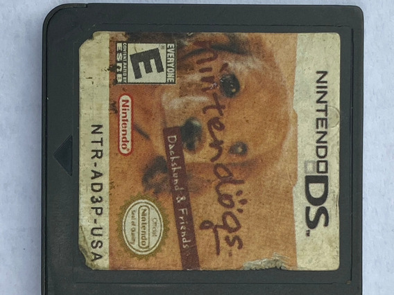 Jogo Nintendogs Dachshund &friend Nintendo Ds