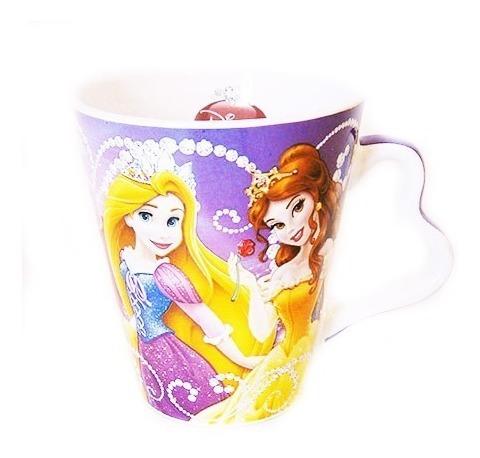 Taza Porcelana Disney Princesas Minnie Oferta En Caja X 6 Unidadades