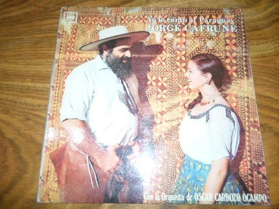 Jorge Cafrune - Yo Le Canto Al Paraguay * Disco De Vinilo