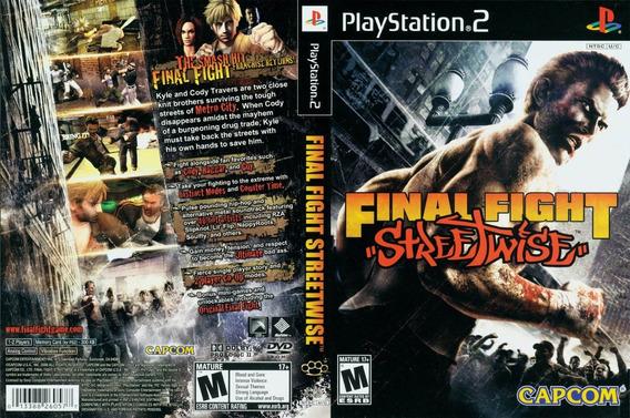 Final Fight Streetwise - Ps2 - Patch