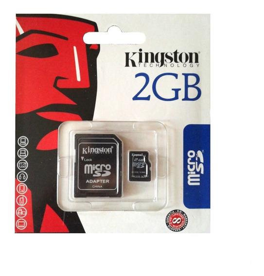 Cartão De Memória Micro Sd Kingston 2gb Tf / R002 K
