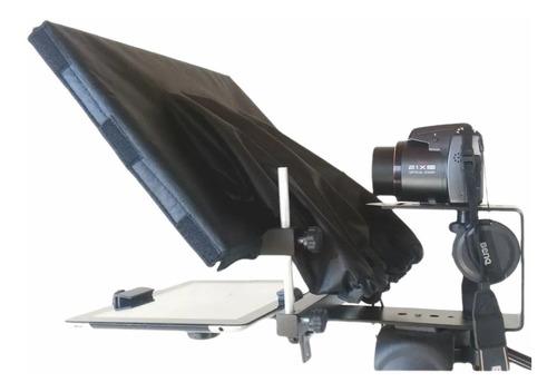 Teleprompter Profissional Hemon Smartphone iPad Tablet
