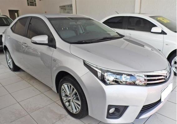 Toyota Corolla 2.0 Xei Prata 16v Flex 4p Automático 2015