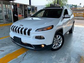 Jeep Cherokee 2.4 Limited Plus Piel Quemacocos Gps 2017