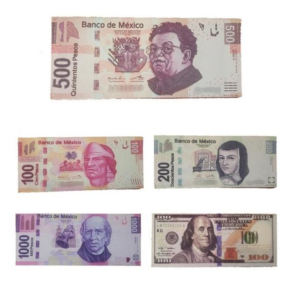 Cartera Billetera Ultra Delagada Vertical, Billetes Pesos Y Dólares, Resistente Y Original
