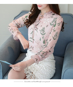 Camisa Blusa Bata Cardigan Casaco Feminino Estampado