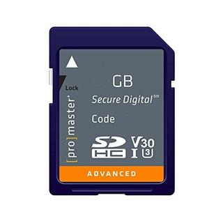 Tarjetas Sdtarjeta De Memoria Promaster Advanced Sdhc 64g..