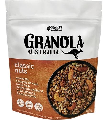 Harts Natural Granola Vegana Gluten Free Classic Nuts 300g