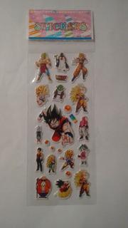 Plancha De Stickers Dragon Ball Z
