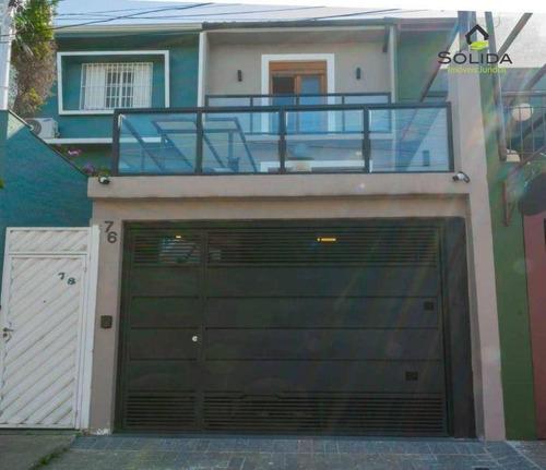 Imagem 1 de 30 de Sobrado Com 3 Dormitórios À Venda, 146 M² Por R$ 1.800.000,00 - Vila Madalena - São Paulo/sp - So0013