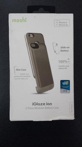 Estuche Cargador iPhone 6s Moshi Dual Case Elegante