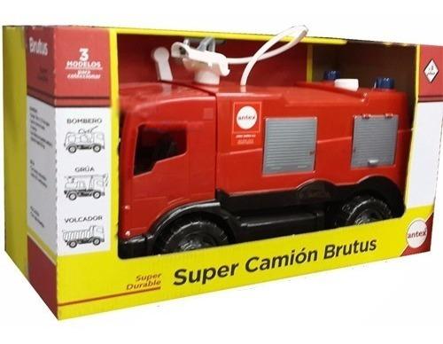 Super Camion De Bomberos Brutus Carga Y Lanza Agua Antex