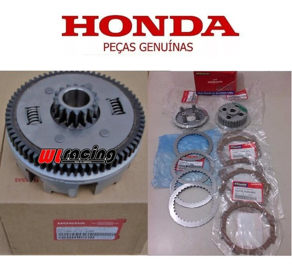 Campana E Kit Embreagem Original Honda Cg 150 Titan Fan150