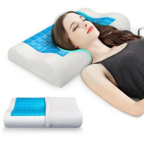 Almohada Latex Gel Memory Pillow Ortopedica Viscoelastica