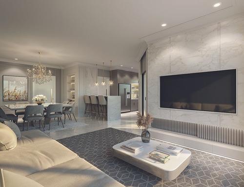 Imagem 1 de 15 de Ref: 14 - Apartamento Com 4 Suites Em Meia Praia - Itapema - V-amd14
