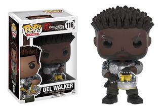 Funko Pop - Gears Of War - Del Walker #116 Original