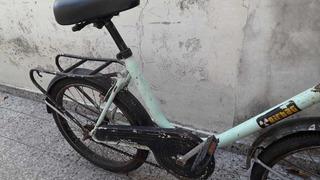 Bicicleta Rod. 20. Tipo Gracielita