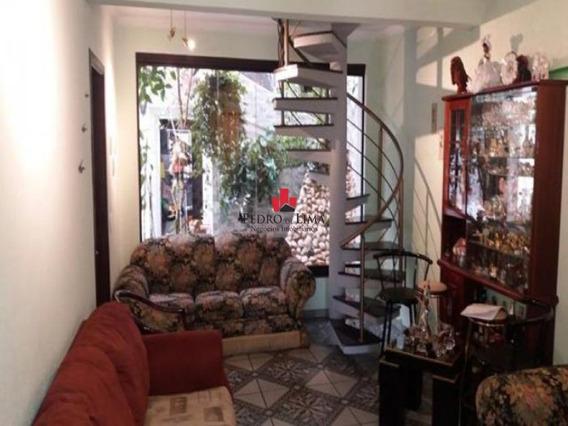 Sobrado Frontal 4 Dormitórios Sendo 2 Suites E 2 Vagas, Em Vila Ré. - Pe22012