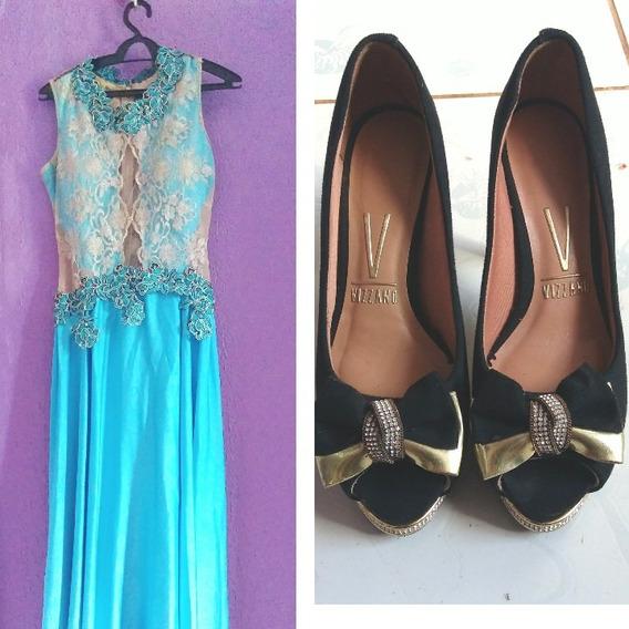 Vestido E Sapato Para Formaturas (estilo Formal)