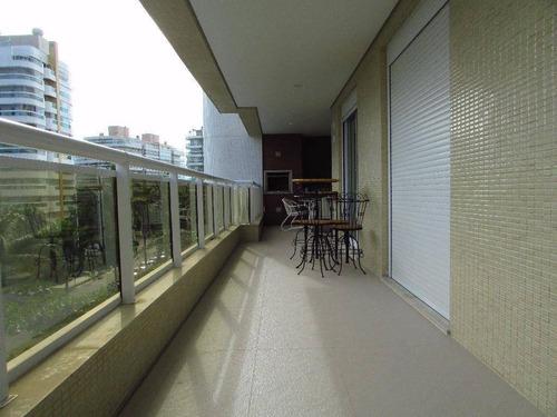Apartamento Com 4 Dormitórios À Venda, 138 M² Por R$ 2.600.000,00 - Riviera - Módulo 8 - Bertioga/sp - Ap1415