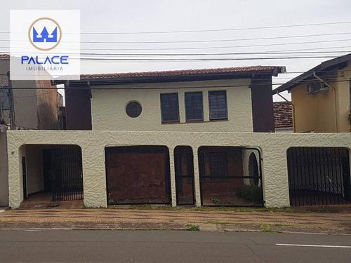 Imagem 1 de 23 de Casa Para Alugar, 241 M² Por R$ 3.500,00/mês - Centro - Piracicaba/sp - Ca0627