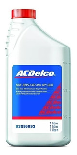 Aceite Diferencial Acdelco Original 85w140 Mineral S10