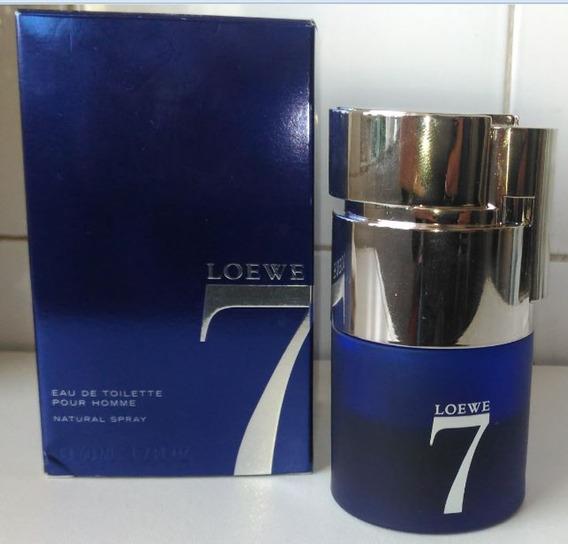 Perfume Usado Importado 7 Seven Loewe Frasco Com Aprox. 25ml