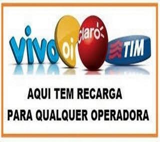 Recarga Celular Crédito Online Tim Oi Claro Vivo Promoção Nt