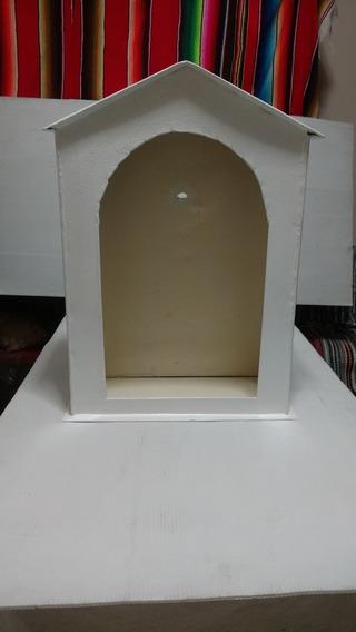 Nicho Para Santos O Altar, Construcción Metálica, Blanco