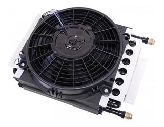 Kit Radiador Externo De Cobre 16 Pasadas Con Electro