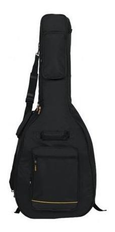 Capa Violão Classico Rock Bag Rb 20508 B Deluxe Line Preto