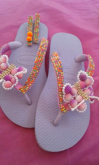 Sandálias Havaianas Originais Customizadas