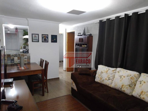 Imagem 1 de 14 de Apartamento Com 2 Dormitórios À Venda, 56 M² Por R$ 195.000,00 - Jardim Alvorada - Santo André/sp - Ap2625