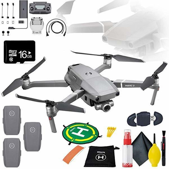 Camara Mavic Zoom 2 Bundle Landing Pad 16gb Microsd Flight ®