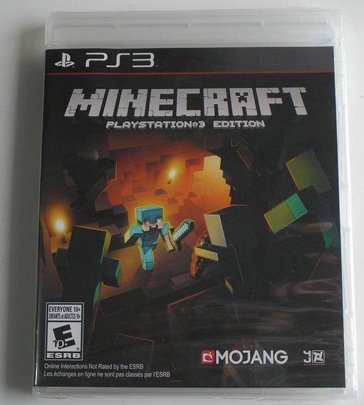 Minecraft Edition Ps3 Novo Lacrado