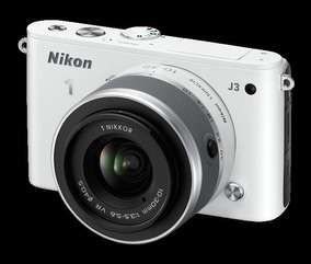 Câmera Digital Nikon 1 J3 - C/ Kit De Lentes, Cartão E Bolsa