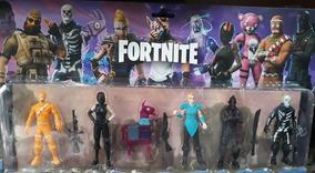 Muñecos Fortnite Highlights - Set X4 Figuras Geniales !