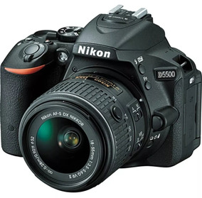 Nikon Dslr D5500 + 02 Lentes + 02 Baterias E Mais.