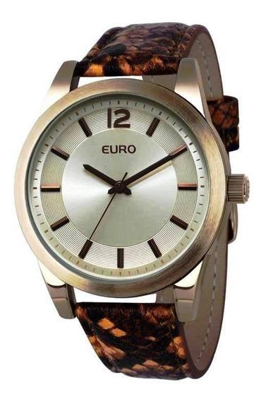 Relógio Feminino Analógico Euro Vary Eu2035lxx/2d-python