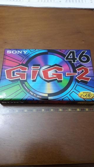 Fita K7 Sony Gig-2 46 Minutos Lacrada