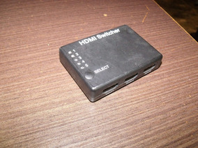 Chave Seletora Switch Hdmi 5 Entradas E Uma Saida Usado