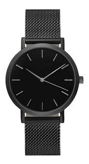 Relógio Masculino Analogico Pulseira De Aço
