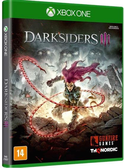 Jogo Darksiders 3 Xbox One Disco Fisico Game Novo Português